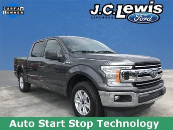 2018 Stone Gray Ford F-150 XLT Truck 4 Door RWD
