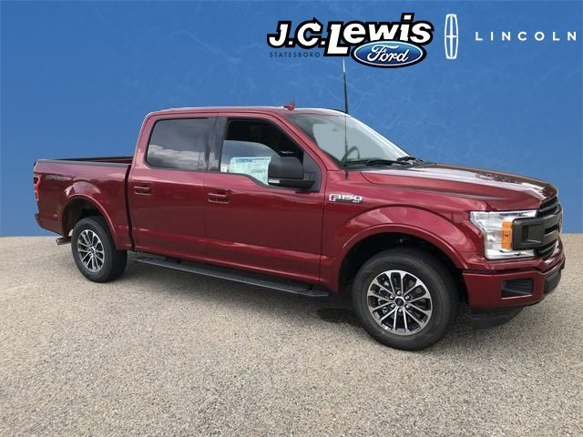 2018 Ruby Red Metallic Tinted Clearcoat Ford F-150 XLT 5.0L V8 Ti-VCT Engine Truck RWD Automatic 4 Door