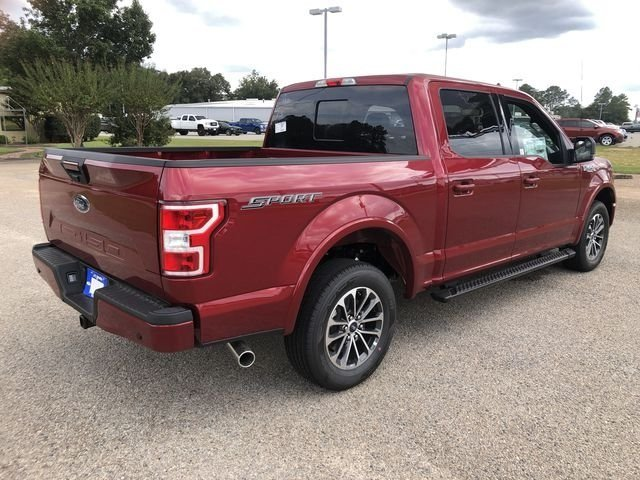 2018 Ruby Red Metallic Tinted Clearcoat Ford F-150 XLT 4 Door Truck 5.0L V8 Ti-VCT Engine Automatic RWD
