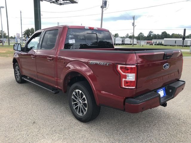 2018 Ruby Red Metallic Tinted Clearcoat Ford F-150 XLT 4 Door RWD Truck 5.0L V8 Ti-VCT Engine