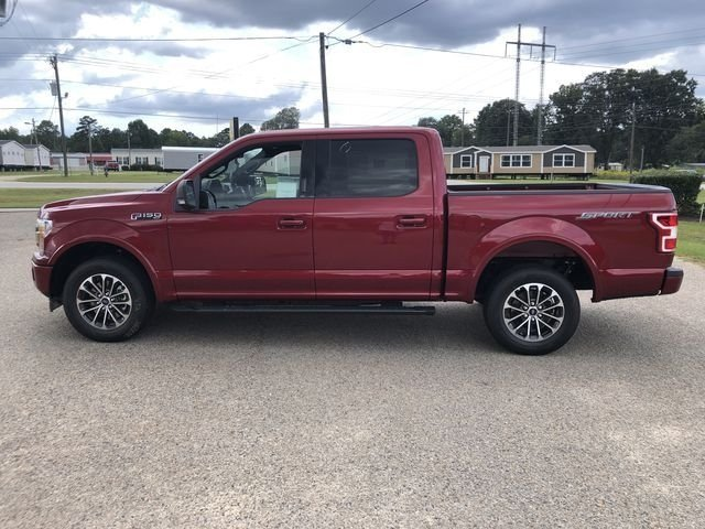 2018 Ruby Red Metallic Tinted Clearcoat Ford F-150 XLT Truck Automatic RWD 4 Door 5.0L V8 Ti-VCT Engine