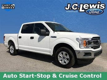 2018 Oxford White Ford F-150 XLT 4 Door RWD Automatic Truck
