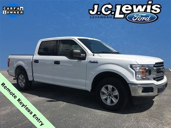 2018 Oxford White Ford F-150 XLT 4 Door Truck 3.3L V6 Engine Automatic