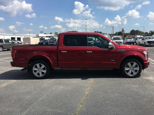 2015 Ruby Red Metallic Tinted Clearcoat Ford F-150 Platinum Truck RWD 4 Door