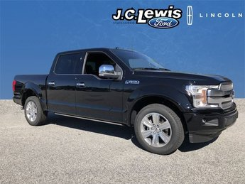 2018 Ford F-150 Platinum EcoBoost 3.5L V6 GTDi DOHC 24V Twin Turbocharged Engine Truck Automatic