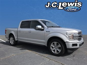 2018 Ford F-150 Platinum RWD Automatic 4 Door Truck EcoBoost 3.5L V6 GTDi DOHC 24V Twin Turbocharged Engine