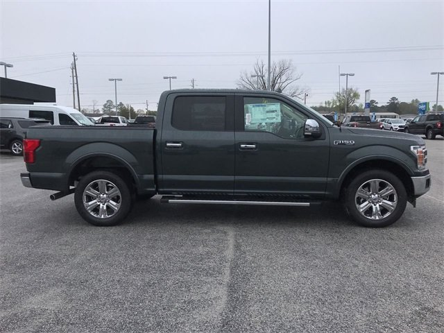 2018 Guard Metallic Ford F-150 Lariat Truck RWD EcoBoost 3.5L V6 GTDi DOHC 24V Twin Turbocharged Engine 4 Door