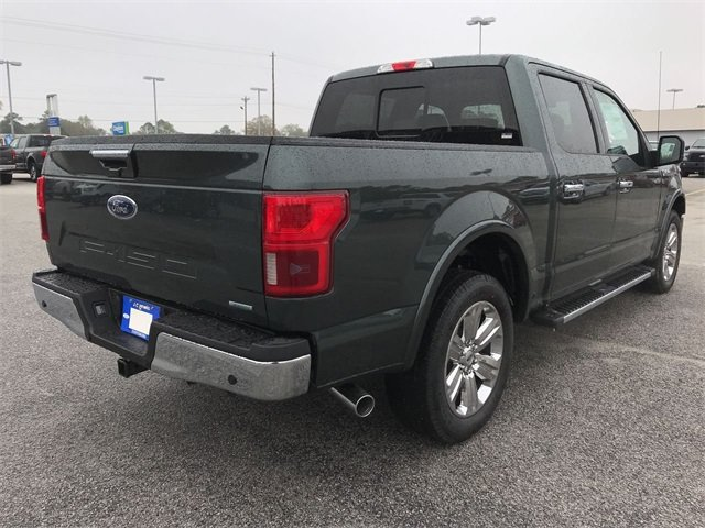 2018 Guard Metallic Ford F-150 Lariat Automatic RWD EcoBoost 3.5L V6 GTDi DOHC 24V Twin Turbocharged Engine Truck 4 Door