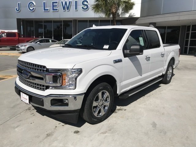 2018 Oxford White Ford F-150 XLT Truck Automatic EcoBoost 2.7L V6 GTDi DOHC 24V Twin Turbocharged Engine