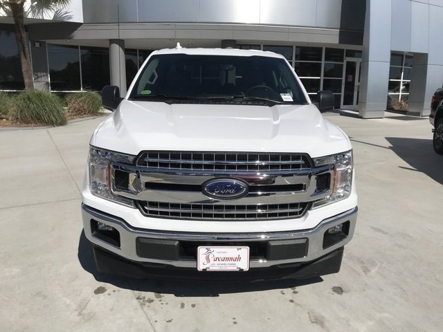2018 Oxford White Ford F-150 XLT RWD EcoBoost 2.7L V6 GTDi DOHC 24V Twin Turbocharged Engine Automatic 4 Door