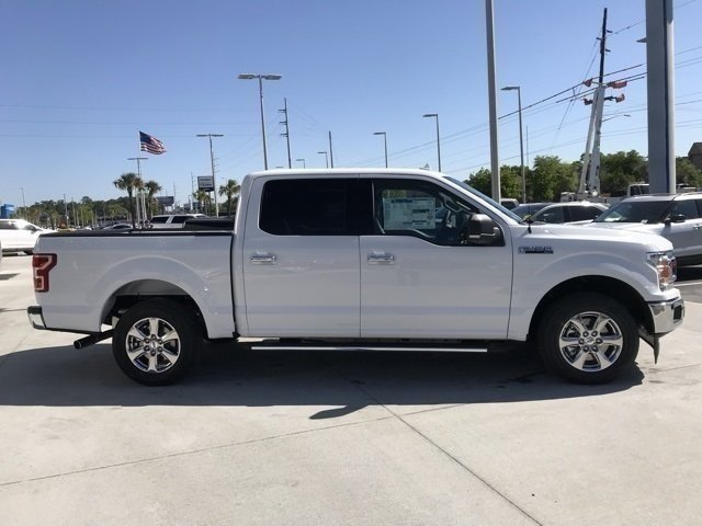 2018 Oxford White Ford F-150 XLT Truck RWD 4 Door EcoBoost 2.7L V6 GTDi DOHC 24V Twin Turbocharged Engine