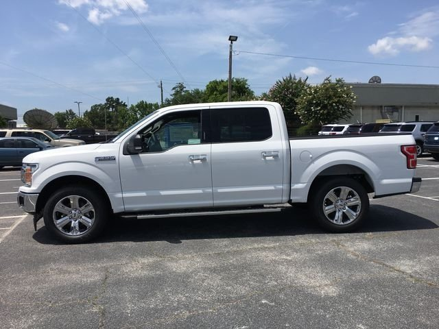 2018 Oxford White Ford F-150 XLT Automatic Truck EcoBoost 2.7L V6 GTDi DOHC 24V Twin Turbocharged Engine