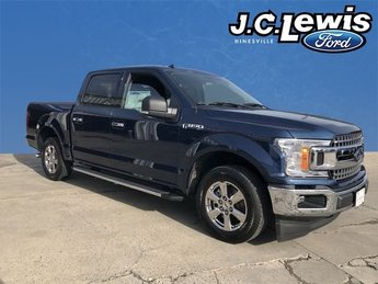 2018 Blue Ford F-150 XLT Automatic 4 Door Truck