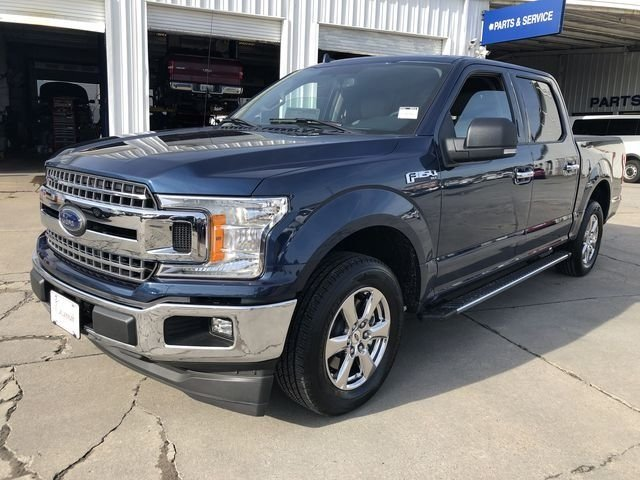 2018 Blue Ford F-150 XLT 4 Door RWD Truck Automatic