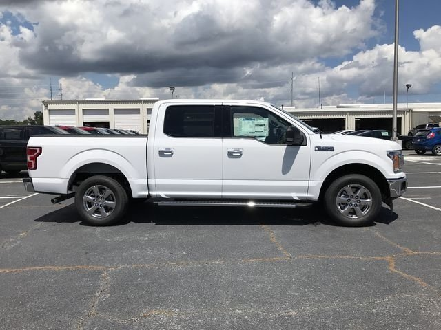 2018 Oxford White Ford F-150 XLT EcoBoost 2.7L V6 GTDi DOHC 24V Twin Turbocharged Engine 4 Door Truck RWD Automatic