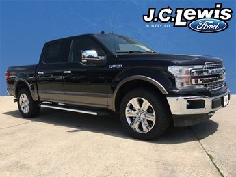 2018 Shadow Black Ford F-150 Lariat 5.0L V8 Ti-VCT Engine Truck 4 Door