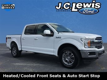 2018 Oxford White Ford F-150 Lariat Automatic Truck 5.0L V8 Engine 4 Door