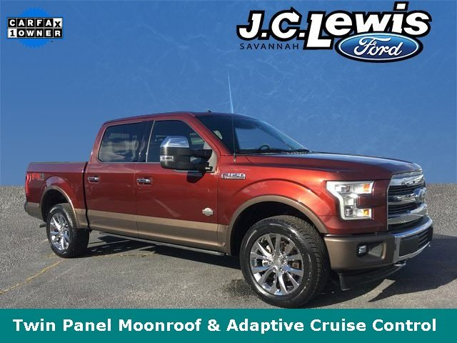2017 Bronze Fire Metallic Ford F-150 King Ranch 5.0L V8 FFV Engine 4X4 Automatic 4 Door