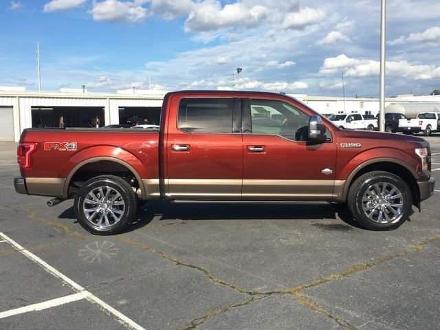 2017 Ford F-150 King Ranch Automatic Truck 4X4 4 Door 5.0L V8 FFV Engine