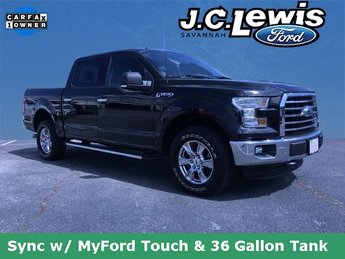2015 Tuxedo Black Metallic Ford F-150 XLT Truck 4 Door Automatic 5.0L V8 FFV Engine 4X4