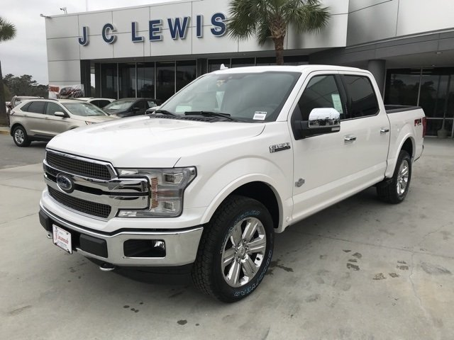 2018 White Platinum Metallic Tri-Coat Ford F-150 King Ranch Truck Automatic 4X4