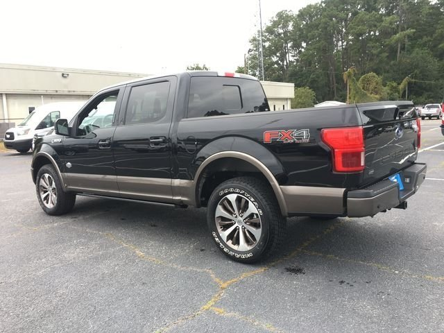 2018 Shadow Black Ford F-150 King Ranch EcoBoost 3.5L V6 GTDi DOHC 24V Twin Turbocharged Engine Truck 4 Door 4X4