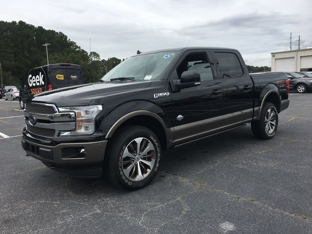 2018 Ford F-150 King Ranch Automatic 4 Door 4X4 EcoBoost 3.5L V6 GTDi DOHC 24V Twin Turbocharged Engine