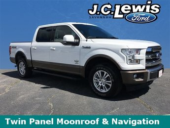 2017 Ford F-150 King Ranch 4 Door EcoBoost 3.5L V6 GTDi DOHC 24V Twin Turbocharged Engine 4X4 Automatic