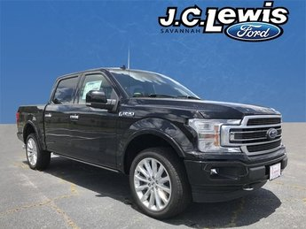 2018 Ford F-150 Limited EcoBoost 3.5L V6 GTDi DOHC 24V Twin Turbocharged Engine Automatic Truck