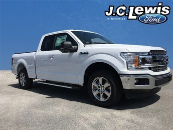 2018 Oxford White Ford F-150 XLT RWD Truck 5.0L V8 Ti-VCT Engine Automatic