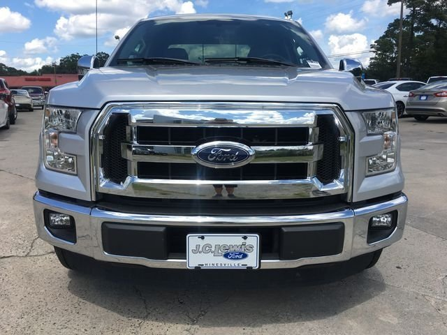 2015 Ingot Silver Metallic Ford F-150 XLT 4 Door RWD Automatic 2.7L V6 EcoBoost Engine