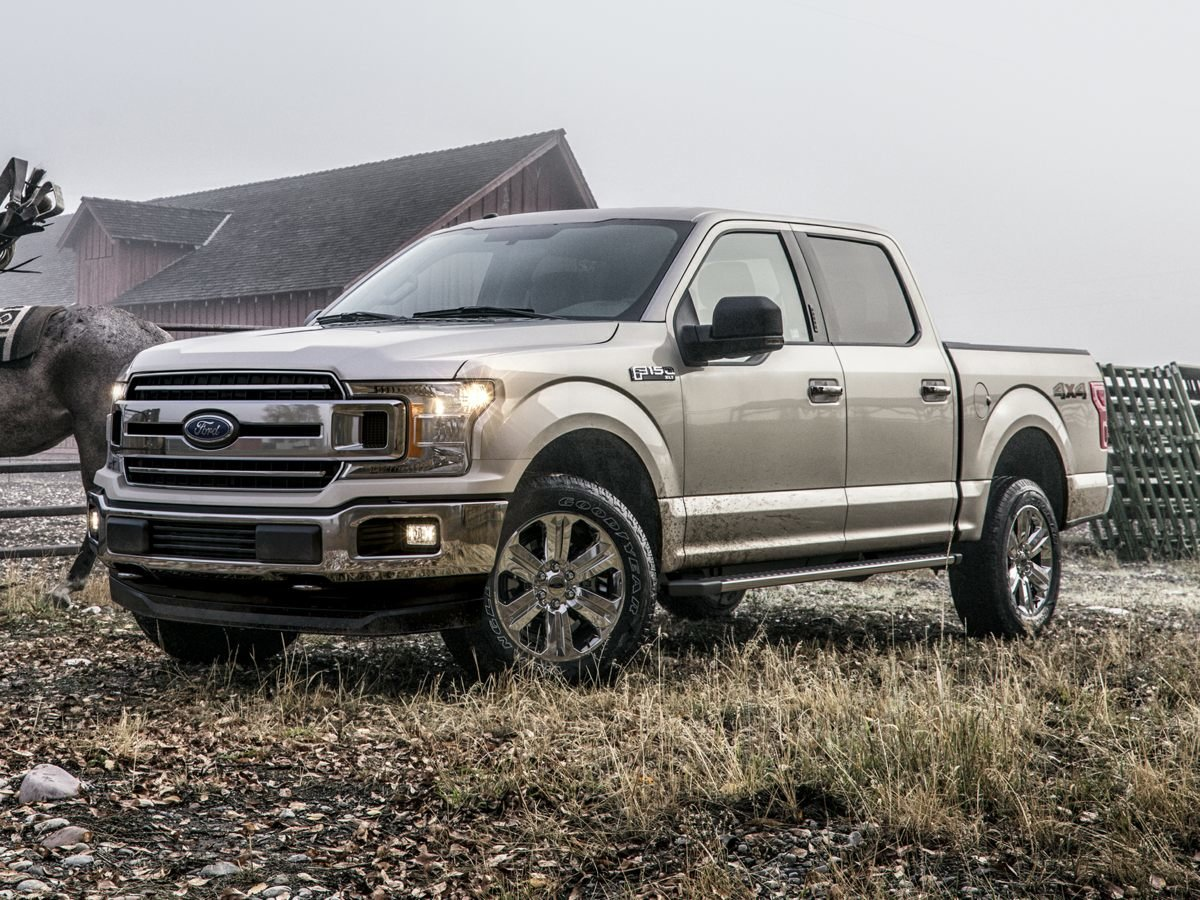 2018 Stone Gray Ford F-150 XLT 4 Door Truck EcoBoost 2.7L V6 GTDi DOHC 24V Twin Turbocharged Engine
