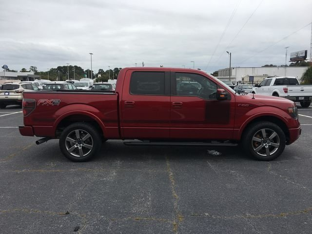 2013 Ruby Red Metallic Tinted Clearcoat Ford F-150 FX2 EcoBoost 3.5L V6 GTDi DOHC 24V Twin Turbocharged Engine RWD Truck 4 Door