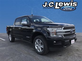 2018 Shadow Black Ford F-150 Platinum 4X4 Truck 4 Door Automatic 3.0L Diesel Turbocharged Engine