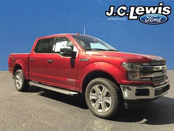 2018 Ford F-150 Lariat 4 Door 3.0L Diesel Turbocharged Engine 4X4 Automatic Truck