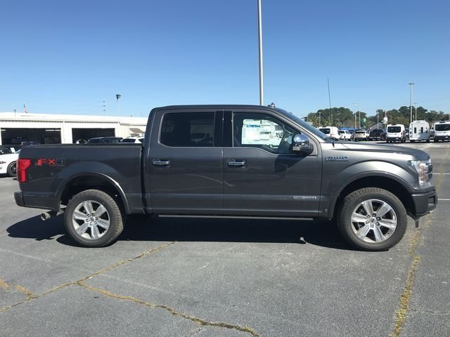 2018 Ford F-150 Platinum Truck 3.0L Diesel Turbocharged Engine 4 Door Automatic