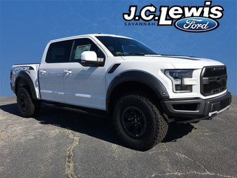 2018 Oxford White Ford F-150 Raptor Automatic 4 Door 4X4 Truck EcoBoost 3.5L V6 GTDi DOHC 24V Twin Turbocharged Engine