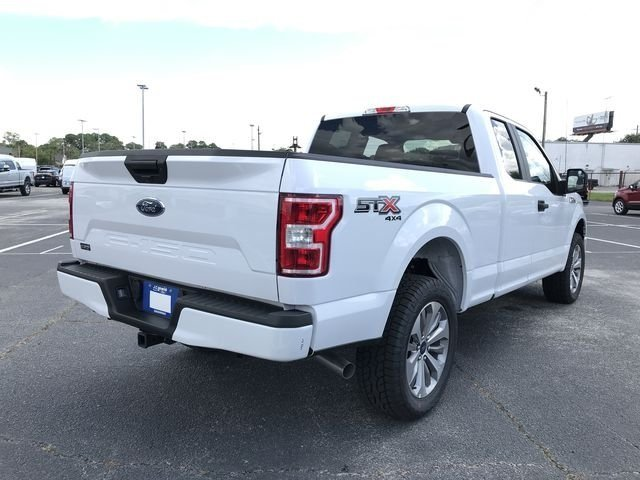 2018 Oxford White Ford F-150 XL 5.0L V8 Ti-VCT Engine Automatic 4X4