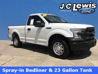 2016 Oxford White Ford F-150 XL RWD Truck 3.5L V6 Ti-VCT Engine 2 Door
