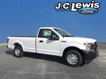 2018 Oxford White Ford F-150 XL Automatic 2 Door 3.3L V6 Ti-VCT 24V Engine