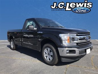 2018 Shadow Black Ford F-150 XLT Truck 2 Door EcoBoost 2.7L V6 GTDi DOHC 24V Twin Turbocharged Engine Automatic RWD