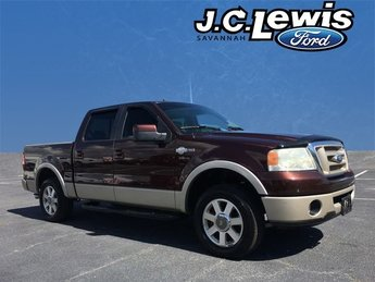 2008 Mahogany Clearcoat Metallic Ford F-150 King Ranch 5.4L V8 EFI 24V Engine Truck RWD 4 Door