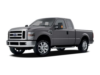 2008 Ford Super Duty F-350 SRW 4 Door Power Stroke 6.4L V8 DI 32V OHV Twin Turbo Diesel Engine Automatic 4X4