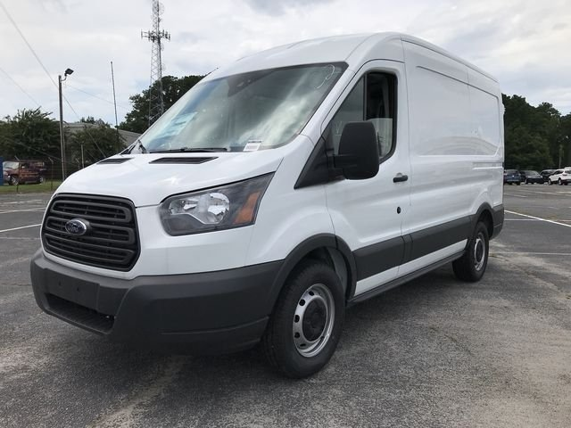 2018 Oxford White Ford Transit-150 Base Automatic RWD 3 Door 3.7L V6 Ti-VCT 24V Engine Van