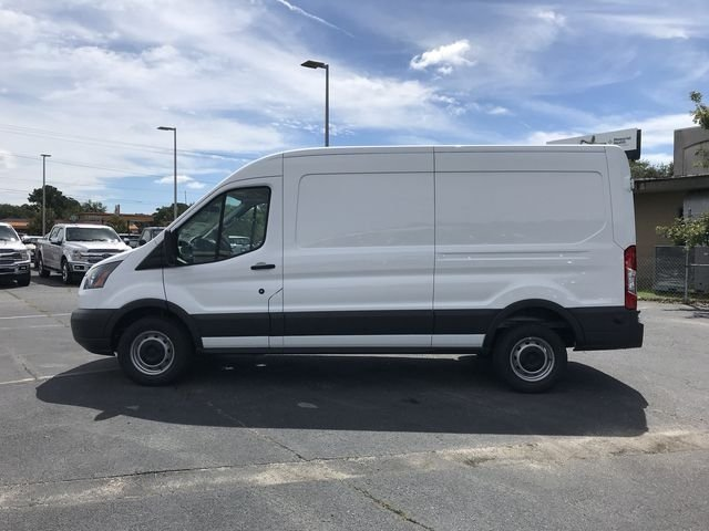 2018 Oxford White Ford Transit-250 Base 3.7L V6 Ti-VCT 24V Engine Automatic Van RWD 3 Door