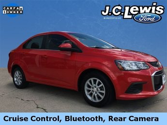2017 Chevy Sonic LT Automatic 4 Door ECOTEC 1.8L I4 DOHC VVT Engine FWD Sedan