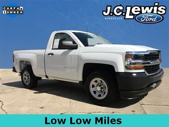 2018 Chevy Silverado 1500 WT RWD 2 Door Automatic V8 Engine