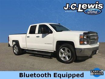 2015 Summit White Chevy Silverado 1500 LS EcoTec3 4.3L V6 Engine 4 Door RWD