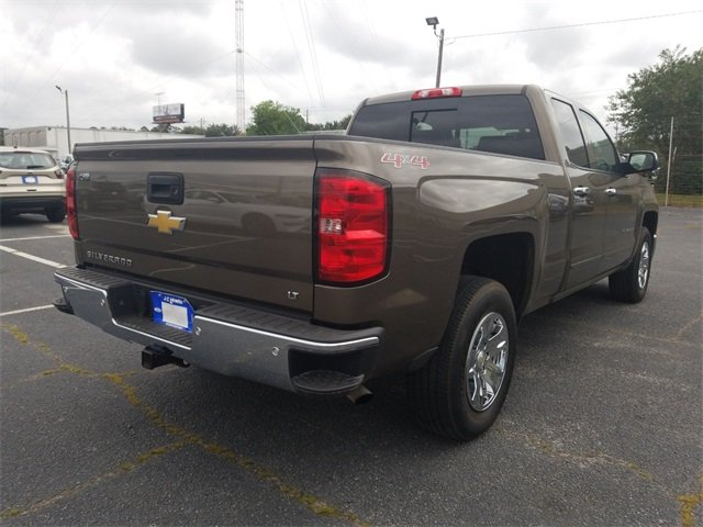 2015 Brownstone Metallic Chevy Silverado 1500 LT 4 Door 4X4 Truck Automatic
