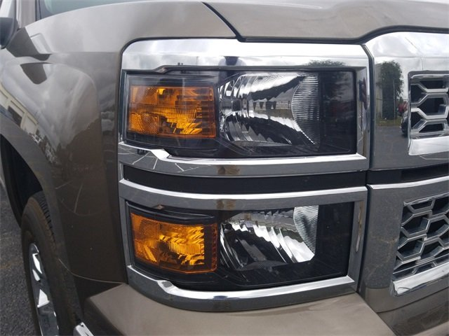 2015 Brownstone Metallic Chevy Silverado 1500 LT V8 Engine Automatic 4 Door